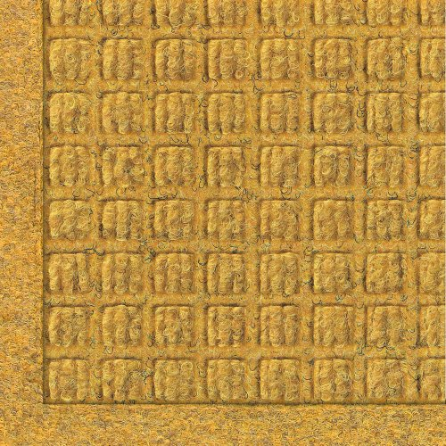 M+A Matting 280 WaterHog Fashion Polypropylene Fiber Entrance Indoor/Outdoor Floor Mat, SBR Rubber Backing, 3' Length x 2' Width, 3/8