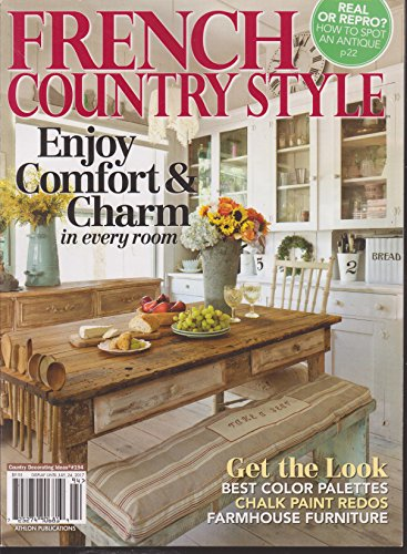 Country Decorating Ideas Magazine #194 French Country Style -