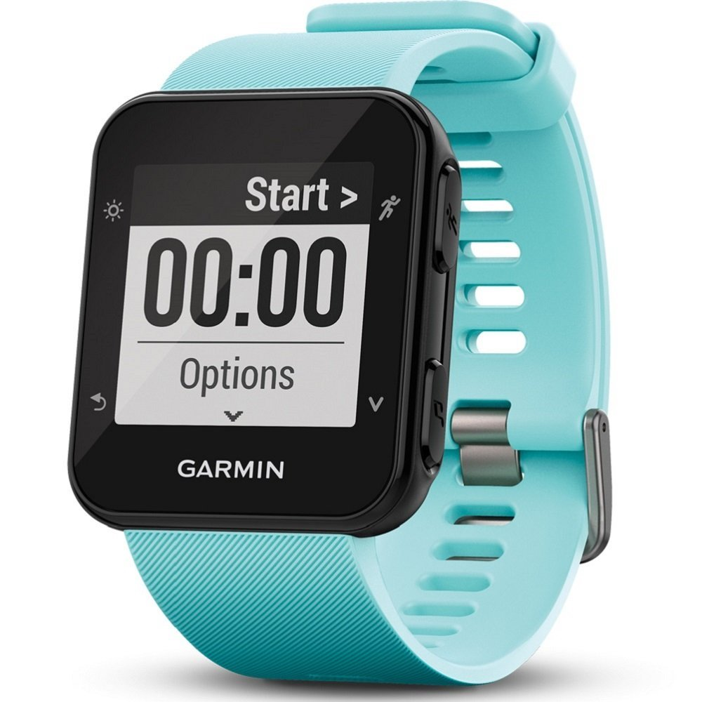 7e23401aa8dba6 Garmin Forerunner 35 GPS Running Watch with Wrist-Based Heart Rate and  Workouts - Blue (Frost Blue): Amazon.co.uk: Electronics