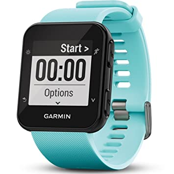 c8961a6a3e52b7 Garmin Forerunner 35 GPS Running Watch with Wrist-Based Heart Rate and  Workouts - Blue (Frost Blue): Amazon.co.uk: Electronics