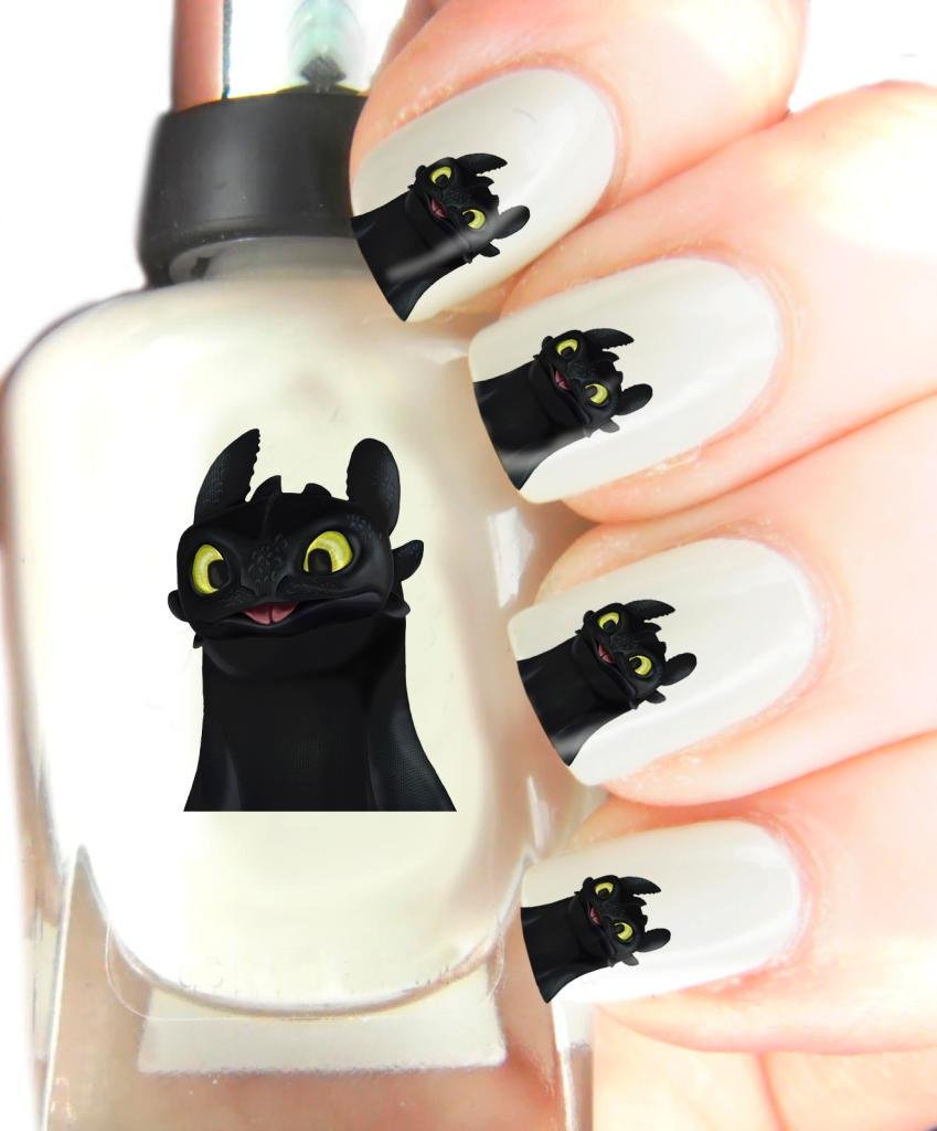 Easy to use, High Quality Nail Art Decal Stickers For Every Occasion! Ideal Christmas Present / Gift - Great Stocking Filler How To Train Your Dragon SNAD
