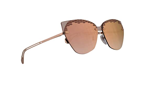 Amazon.com: Bvlgari BV6107 - Gafas de sol, color rosa ...