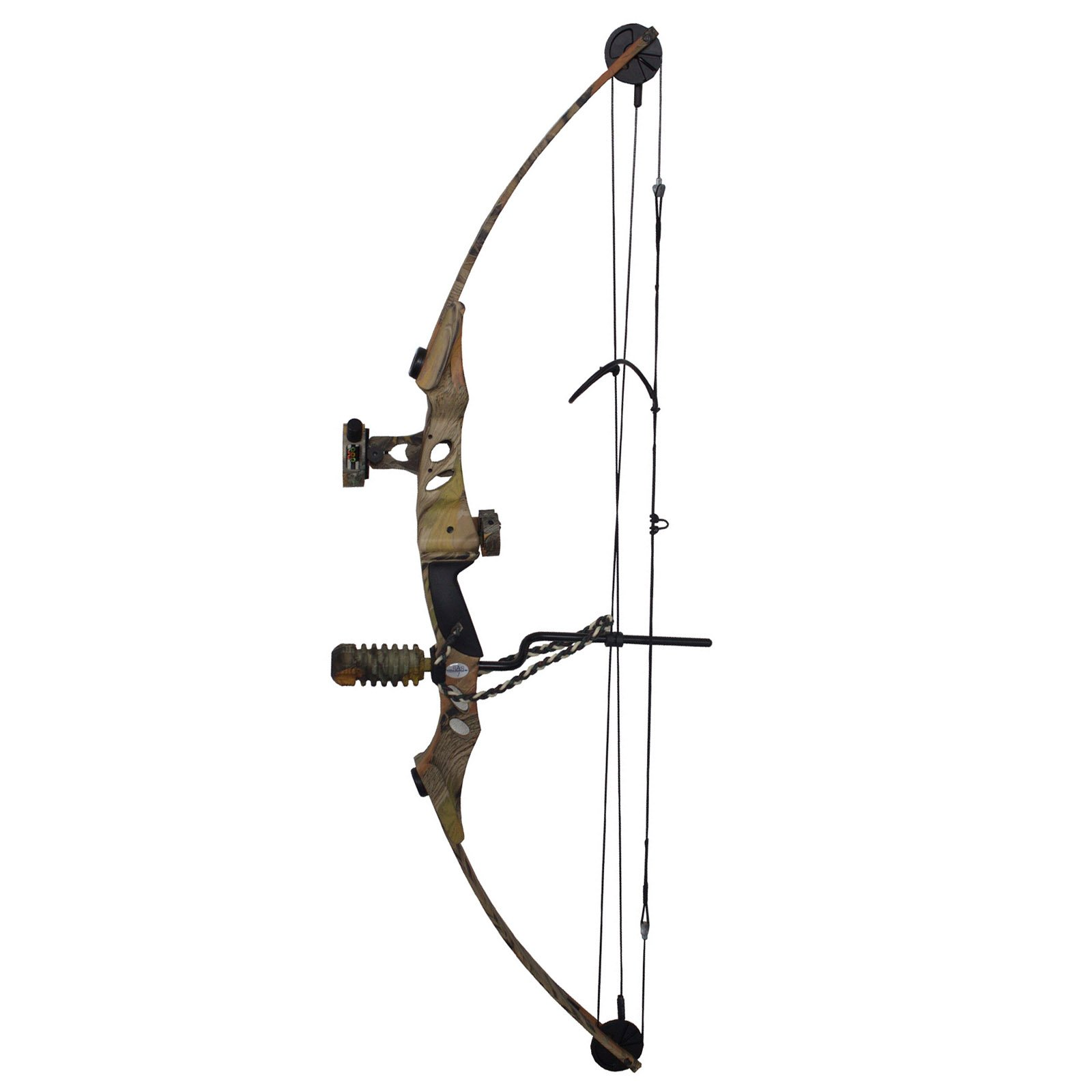 SAS Siege 55 lb Compound Bow Package (Camo with Accessory Package) by Siege
