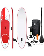 7d3fc07ac ECD Germany Stand Up Paddle Board hinchable - 308 x 76 x 10 cm - Rojo