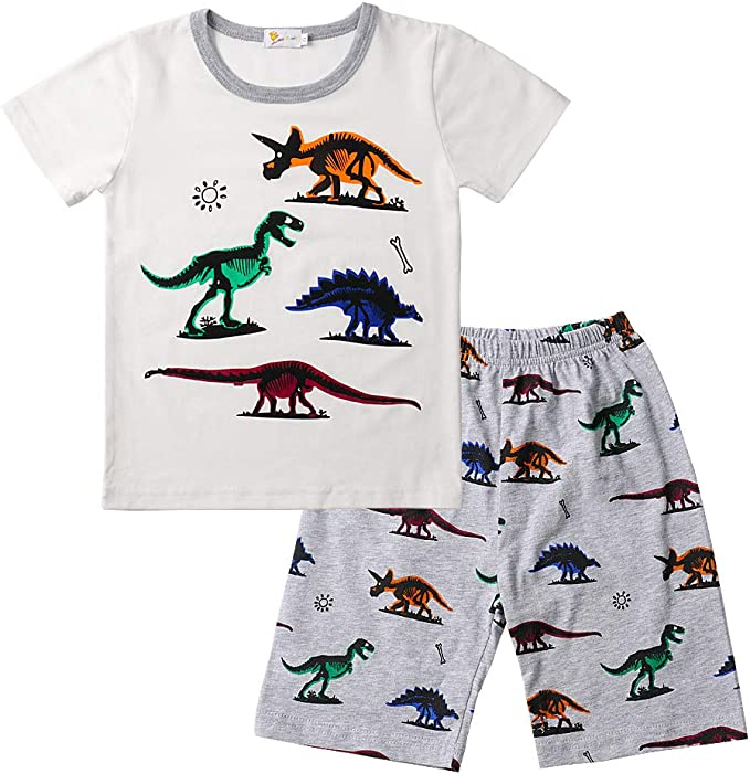 Carter/'s Toddler Boys 2-Pc Printed Cotton Shirt /& Shorts Set Size 3T MSRP:$30