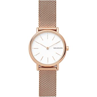 Skagen Reloj Analogico para Mujer de Cuarzo con Correa en Acero Inoxidable SKW2694: Amazon.es: Relojes