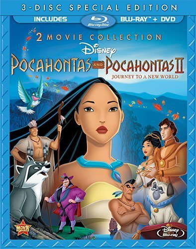 Pocahontas Two-Movie Special Edition (Pocahontas / Pocahontas II: Journey To A New World) (Three-Disc Blu-ray/DVD Combo in Blu-ray Packaging) by Buena Vista Home Entertaiment