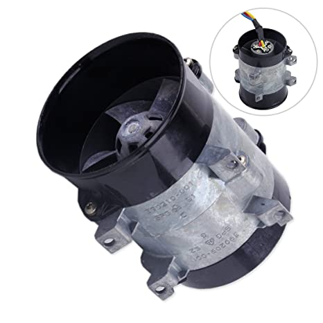 Amazon.com: beler 12V 16.5A Car Auto Electric Turbine Charger Air Intake Turbo Fan High Speed: Automotive