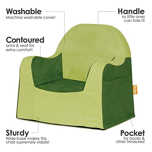 P kolino PKFFLRAGR Little Reader Chair – Green