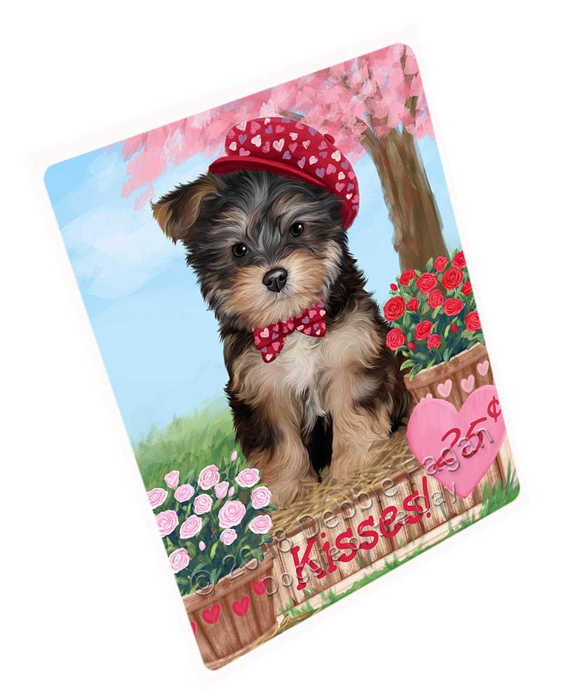 Doggie of the Day Rosie 25 Cent Kisses Yorkipoo Dog Blanket BLNKT125886 (50x60 Sherpa)