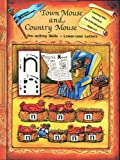 Town Mouse and Country Mouse Lower Case, Learning with Literature, 1555760554