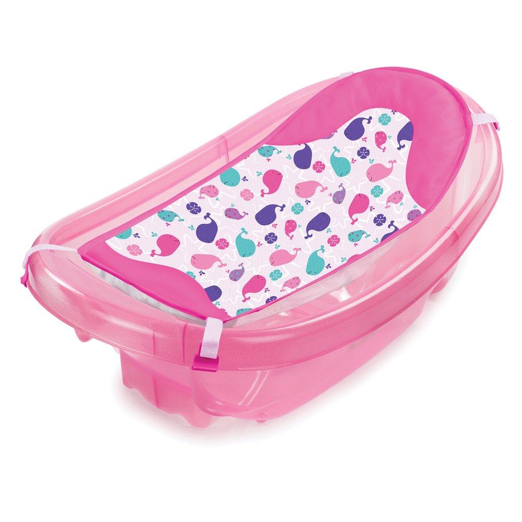 Summer Infant Sparkle and Splash Tub (Pink): Amazon.co.uk: Baby