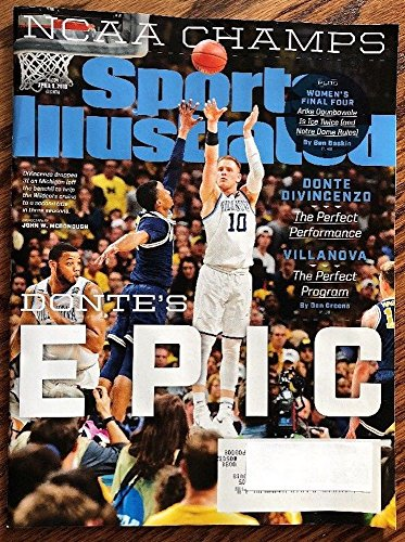 Sports Illustrated April 9 2018 Donte Vicenzo Villanova Basketball player cover. Villanova Wins 2018 NCAA Men's Basketball Title for 2nd time in 3 Years