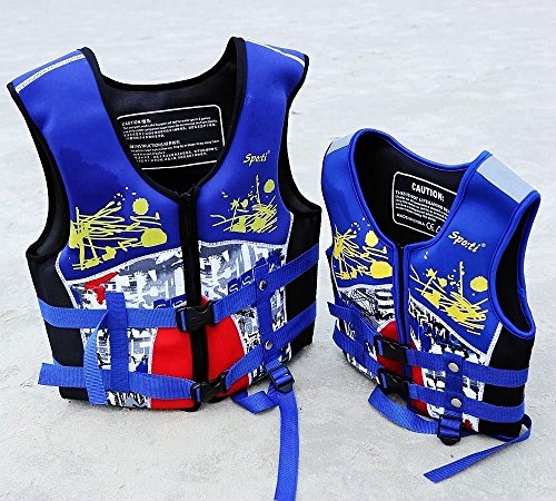 Titop Life Jacket for Child for New Swimming Learner Protection Vest for Baby (Color Blue, S 22-33lbs) by Titop