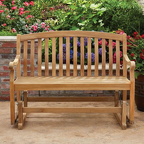 Glider Bench Cedar (2-Person Outdoor Grade