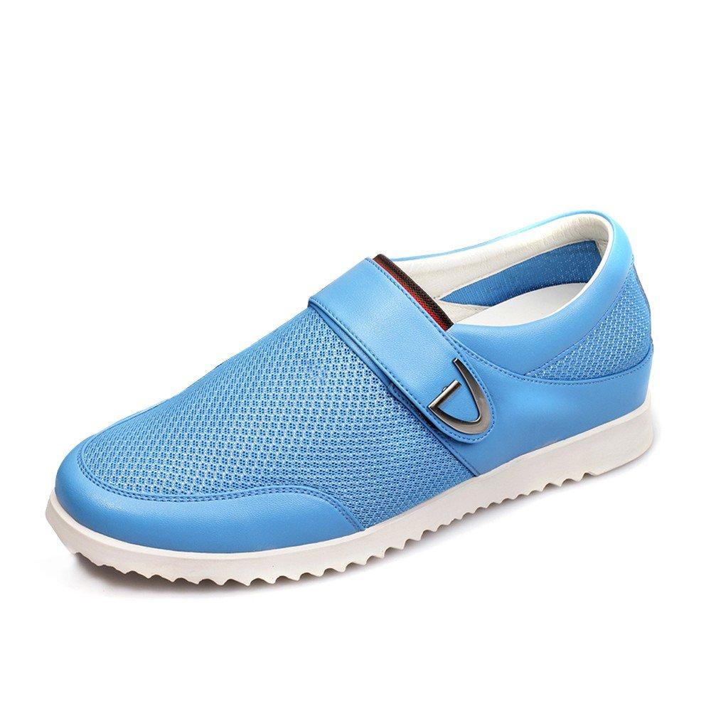 CHAMARIPA Aufzug Schuhe Herren Sportschuhe Turnschuhe Sneakers - 5.5 cm H?her - DL227H12 iexcl;shy;  41 EU|Blau