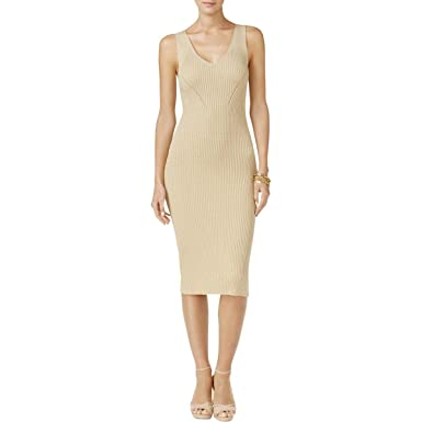 bc0b770afd MICHAEL Michael Kors Women s Pointelle Sleeveless Knit Sweater Dress ...