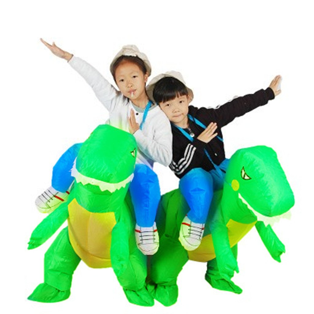 Halloween Inflatable Ride Dinosaur T-Rex Role Play Fancy Costume 3-6 Years