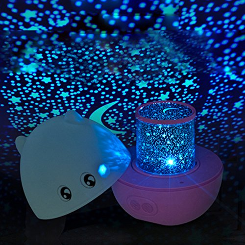 LIWUYOU Light Projector Starry Sky Star Lamp for Kids Cre...