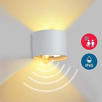 BELLALICHT LED Wandleuchte Innen Außen 12W Aluminium Up