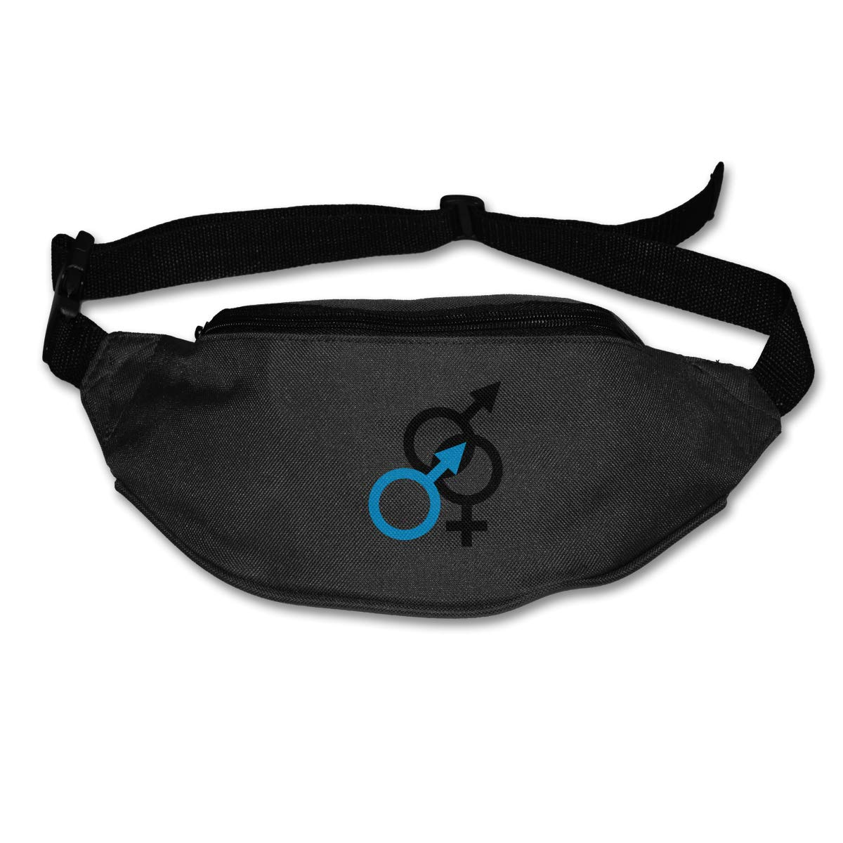 IM A MAN And BI SEXUAL Sport Waist Pack Fanny Pack Adjustable For Run