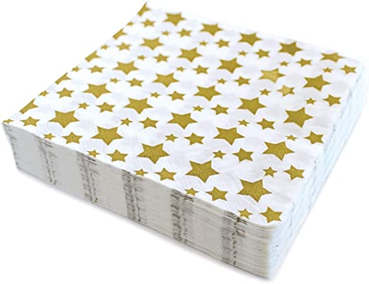 Amazon.com: Servilletas de papel desechables decorativas ...