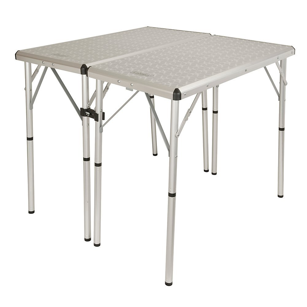 Coleman 205479 Campingtisch 6 in 1 Camping Table (80 x 40 x 37 cm)