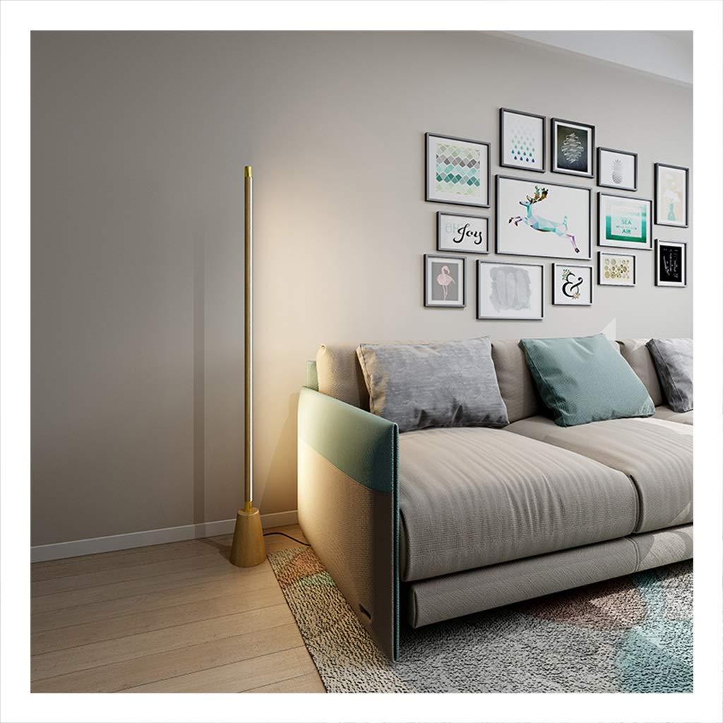 Hyvaluable Hyvaluable Hyvaluable Massivholz Nordic Stehleuchte, Wohnzimmer Schlafzimmer Studie Einfache Nachttischlampe, LED Stehleuchte Fernbedienung Dimmen 5cf75e