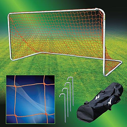 Agora Aluminum Portable Soccer Goal - 5'x10' by Agora