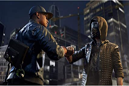 Amazon Com Watch Dogs Mask Led 25 Expression Change Wrench Marcus Legion Cosplay Halloween Prop Resin Expression Change Clothing