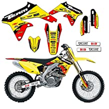 Team Racing Graphics kit for 1993-1995 Suzuki RM 125/250, EVOLV