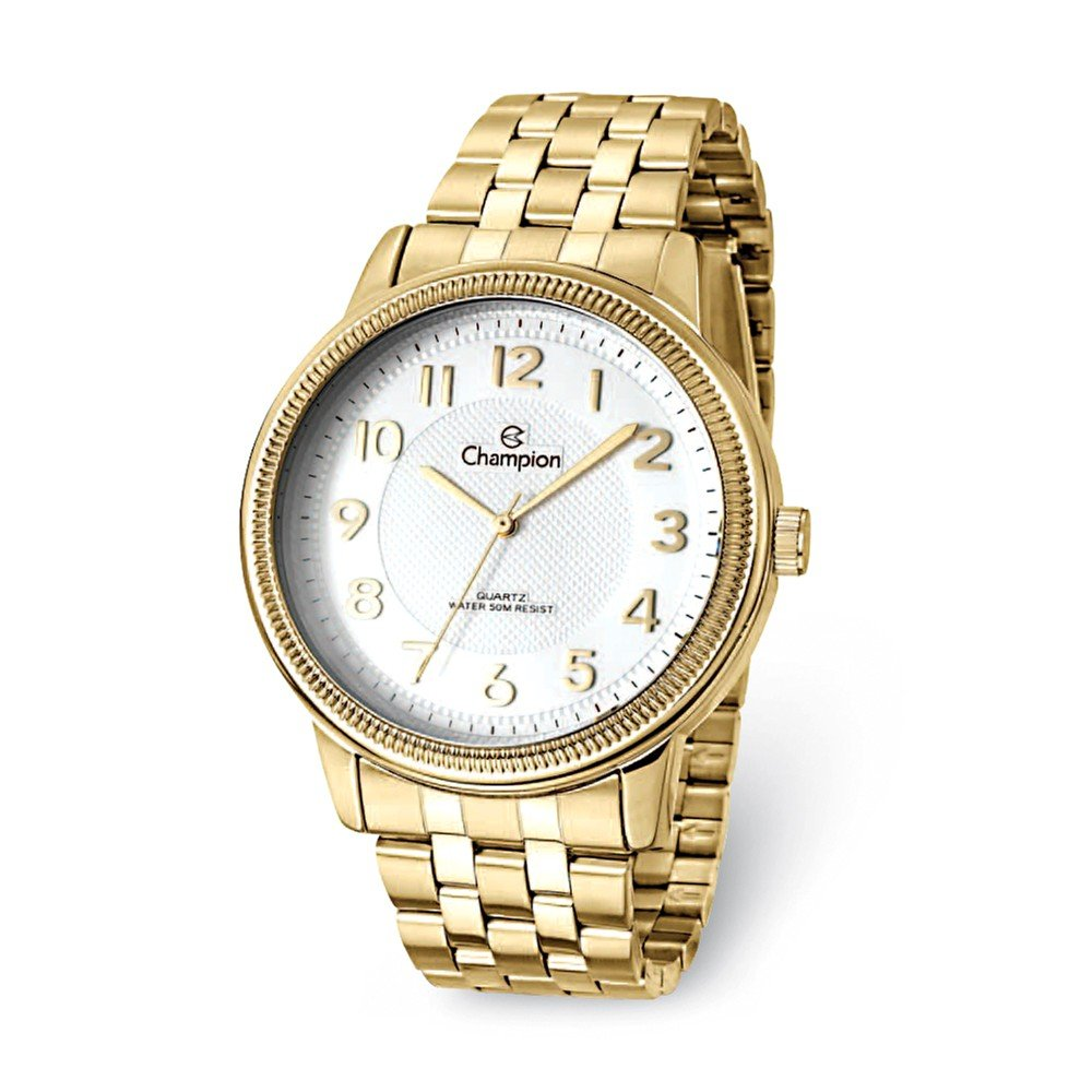 Champion Glamour Gold-tone White Dial Watch