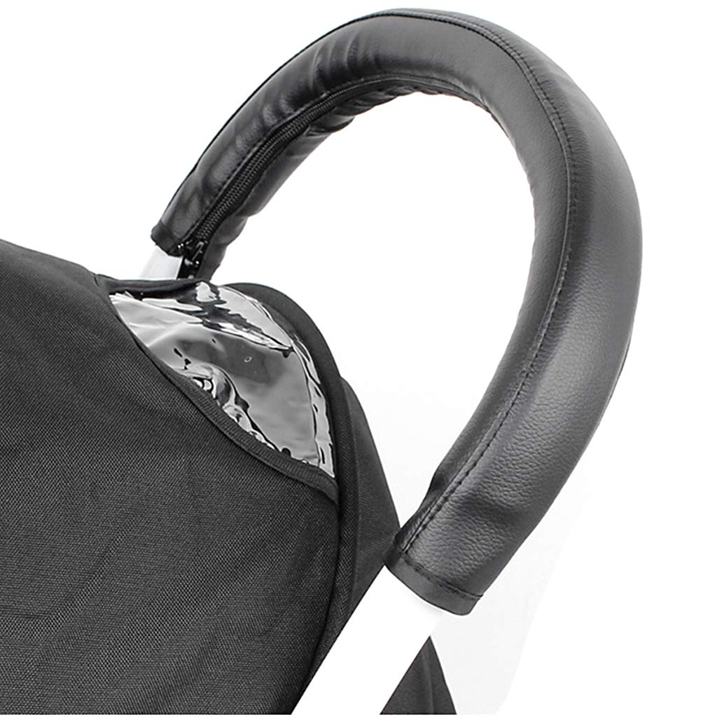 Black 54 cm Baoblaze Universal Armrest Handle Sleeve Cover for Baby Stroller,Children Push Car