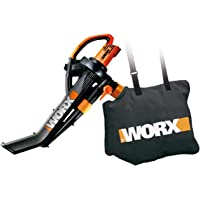 WORX Electric TriVac Leaf Blower Mulcher Vacuum & Metal Impellar and Collection Bag