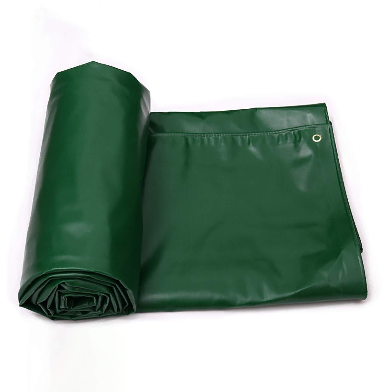 防雨防水シート グロメットが付いている防水防水シートカバー、頑丈な防水防水多目的パーゴラカバー補強された端の屋外のリバーシブル (Color : Green, Size : 12x9ft) B07SM7D6VB Green 12x9ft