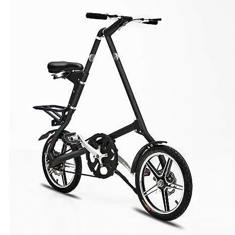 XWDQ Bicicleta Plegable De Aleación De Aluminio De 16 Pulgadas ...