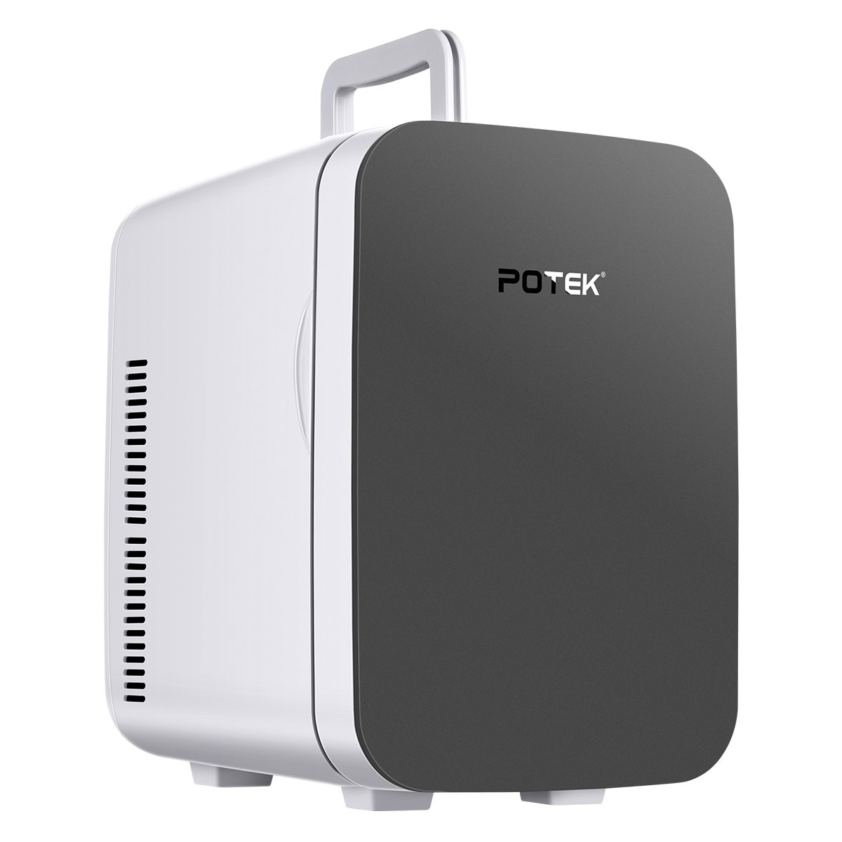 Potek 15 Liter/18 Can Portable AC/DC Mini Fridge Thermoelectric Cooler and Warmer for Home and Car by POTEK (Image #1)