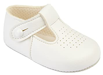 Baby Boys Classic Traditional TBar Shoes Soft Soles 0//3 3//6 6//12 12//18