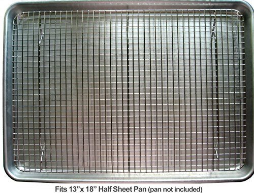 Ultra Cuisine 100 Stainless Steel Wire Cooling Rack For