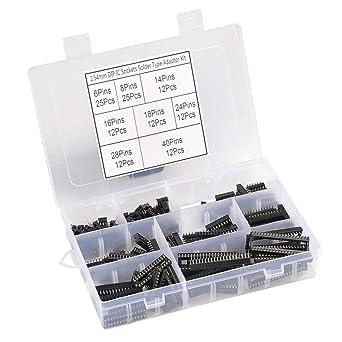 14-Pin 16-Pin 8-polig 66 Stück DIP Adapter Leiterplatten Sockel 6-Pin
