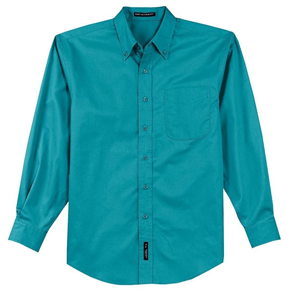 TLS608 Port Authority Mens Big and Tall Long-Sleeve Easy Care Dress Shirt