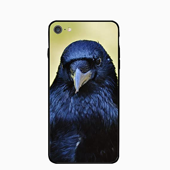 934c00650bd2 Amazon.com: iPhone 6S 6 Case Women Slim Raven Bird Beak Printed ...