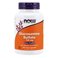 NOW Supplements, Glucosamine Sulfate 750 mg, with UL Dietary Supplement Certification...