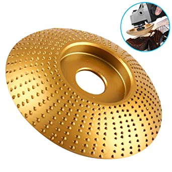 Woodworking Grinding Grinder Wood Tungsten Carbide Grinding Wheel Sanding Carving Tool Abrasive Disc for Angle White Silver 85MM//3.3IN