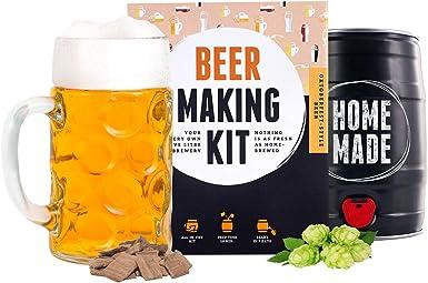 Regalos Originales Kit para elaborar Cerveza Estilo Oktoberfest en Casa - Producto de Alemania - Disfruta tu cerveza en sólo 7 días - Brewbarrel Braufässchen: Amazon.es: Alimentación y bebidas