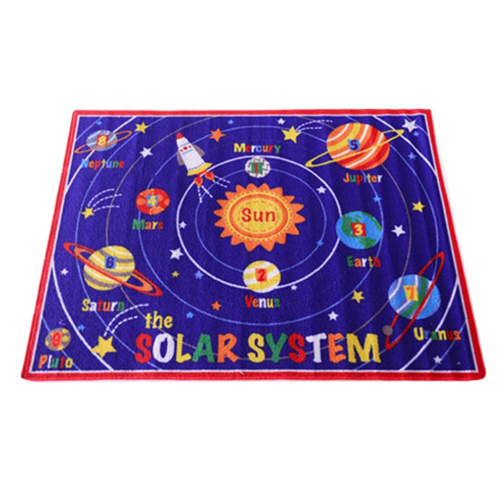 JUNMYEON Educational Baby Play Mat,130  100CM Babies Exercise Area Carpet Be Applicable Playroom Kid's Room Nursery And Classroom