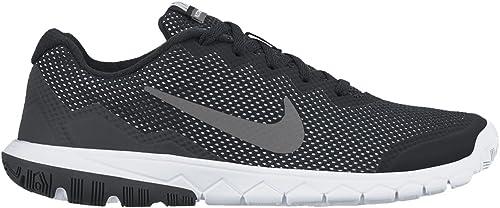 Nike Flex Experience 4 (GS) - Zapatillas de running Niños, Blk/Mtlc Drk Gry-Anthrct-White, 36 1/2: Amazon.es: Zapatos y complementos
