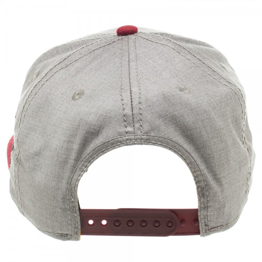 Harry Potter Gryffindor Crest Flat Bill Snapback Hat