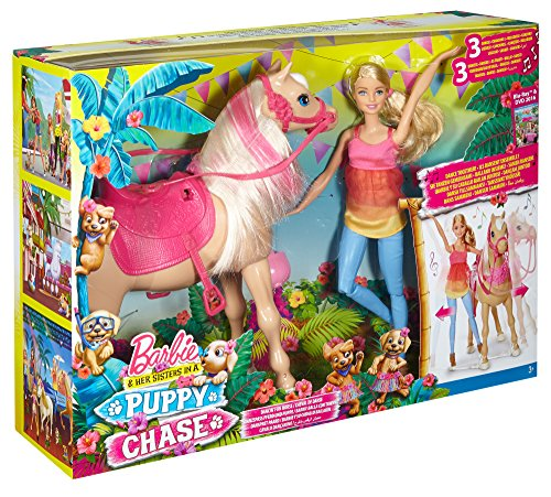 Barbie & Her Sisters Dancin' Fun Horse and Doll