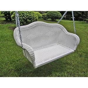 61lCD4TTMGL._SS300_ 50+ Wicker Swings and Wicker Porch Swings